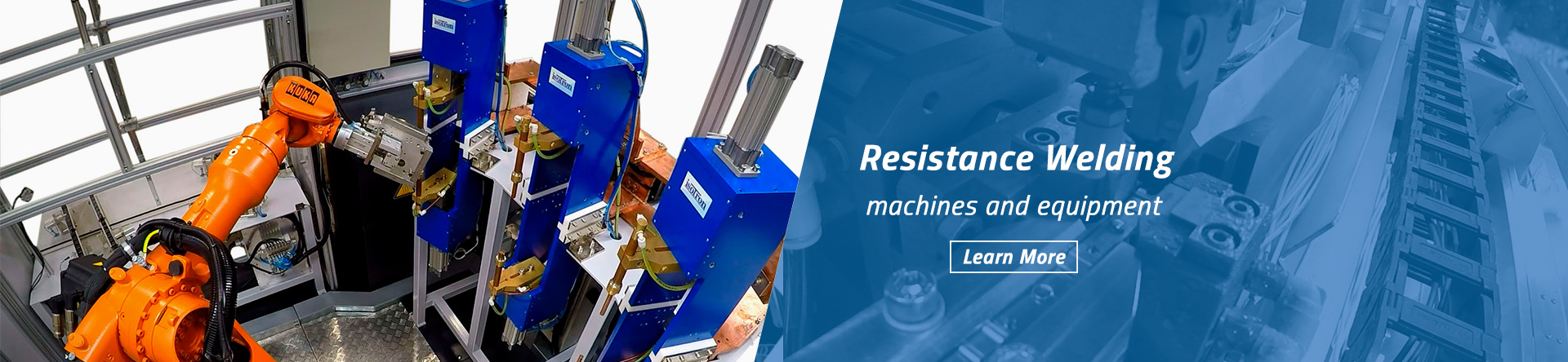 resistance welding machines and equipment